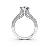 1.26ct Brilliant Diamond Gold Engagement Ring  - 02CG18