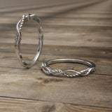 Gold Twisted Rope Wedding Band - 02DS07