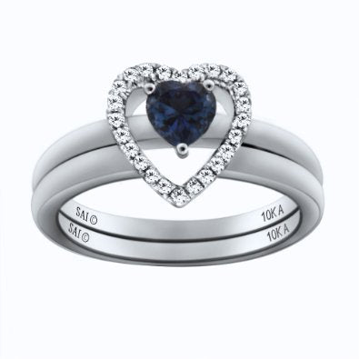 Sapphire Engagement/Bridal Ring