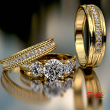 Gold Complete Wedding Set - 02US83