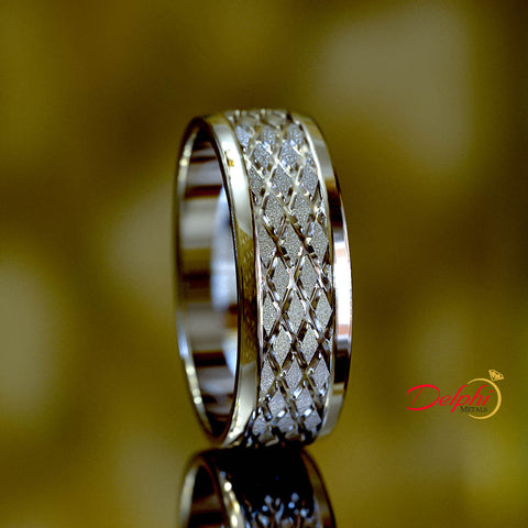 Gold Wedding Band - 02US88