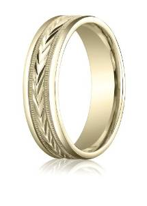 6MM Gold Wedding Band - 03BB10