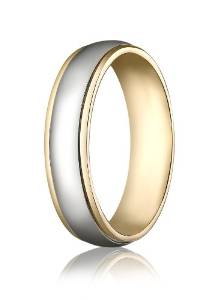 6mm Comfort-Fit High Polished Carved Band - 03BB11