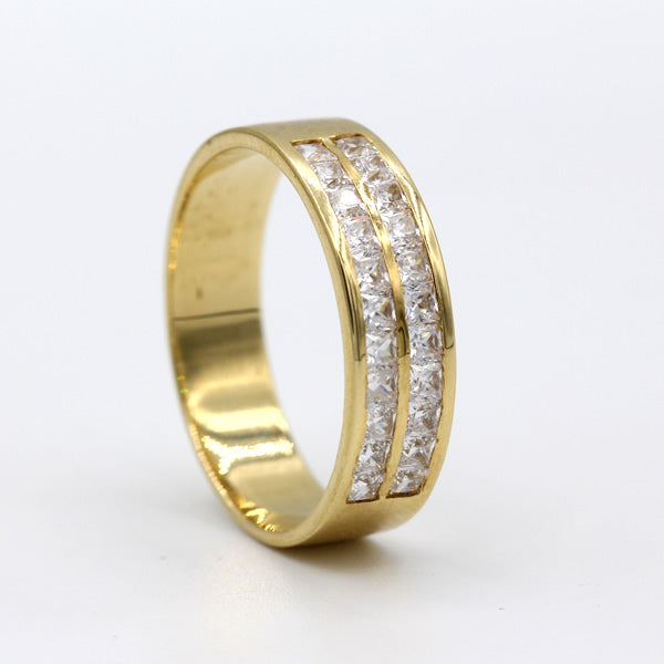 18K Yellow Gold Wedding Band - 03RG33Y-10