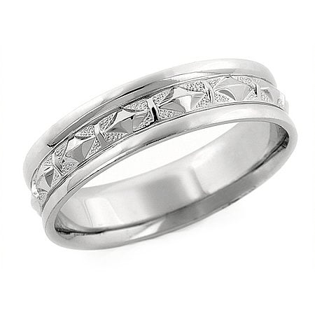 8.00 Millimeters Platinum 950 Wedding Band Ring - 03RG49