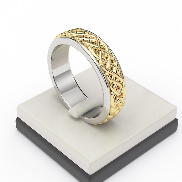 Celtic Wedding Band - 03RG52