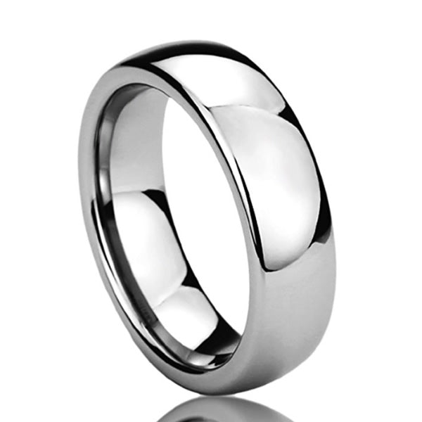 Stainless Steel Wedding Band - 04AS19