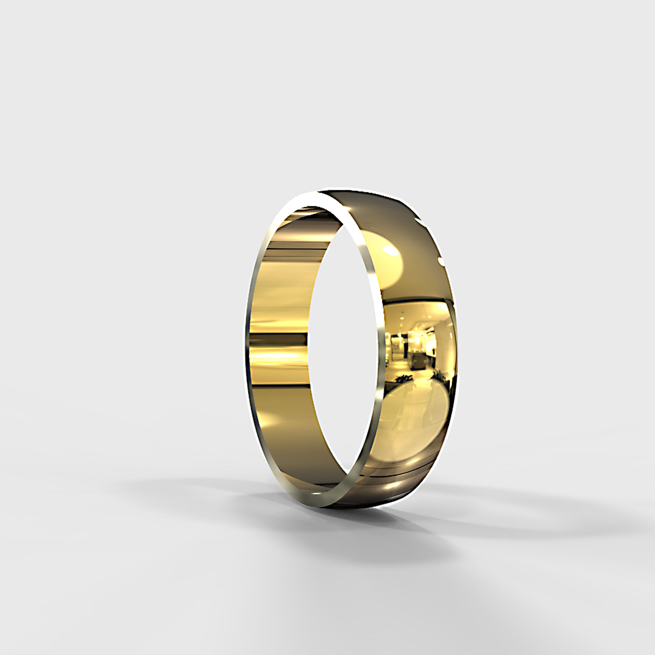 Zara Collection - Gold Wedding Band - 04BS01