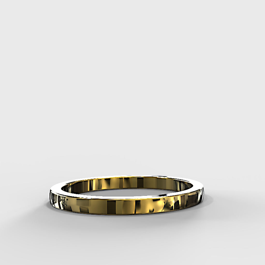 Zara Collection - Gold Wedding Band - 04BS02