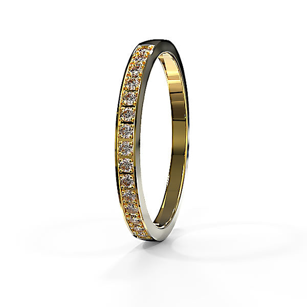Zara Collection - Gold Wedding Band - 04BS03