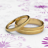 Zara Collection - Gold Wedding Band - 04BS06