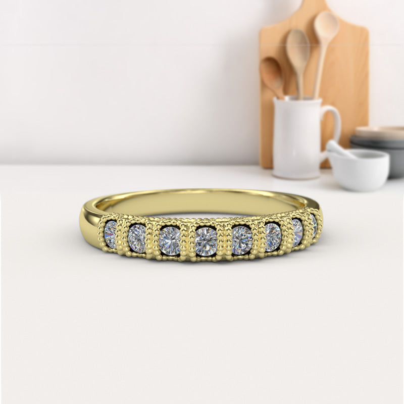 Zara Collection - Gold Wedding Band - 04BS07