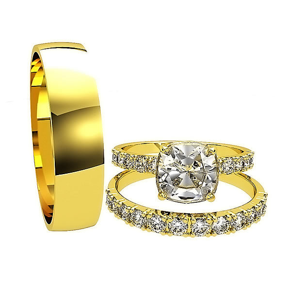 Zara Collection - Complete Gold Wedding Set - 01BS05