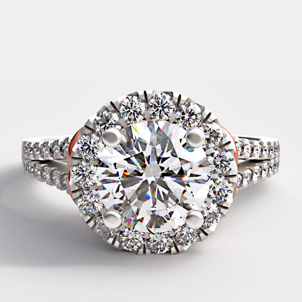 1.1ct Natural Diamond Engagement Ring - 04GG56V