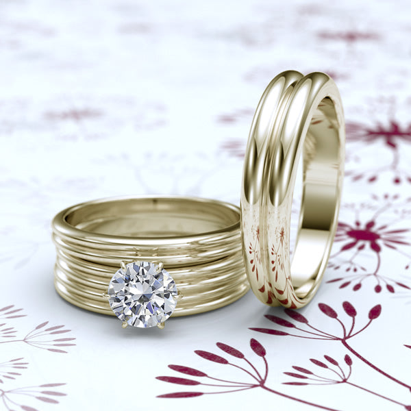 Gold Complete Wedding Set - 04GG87