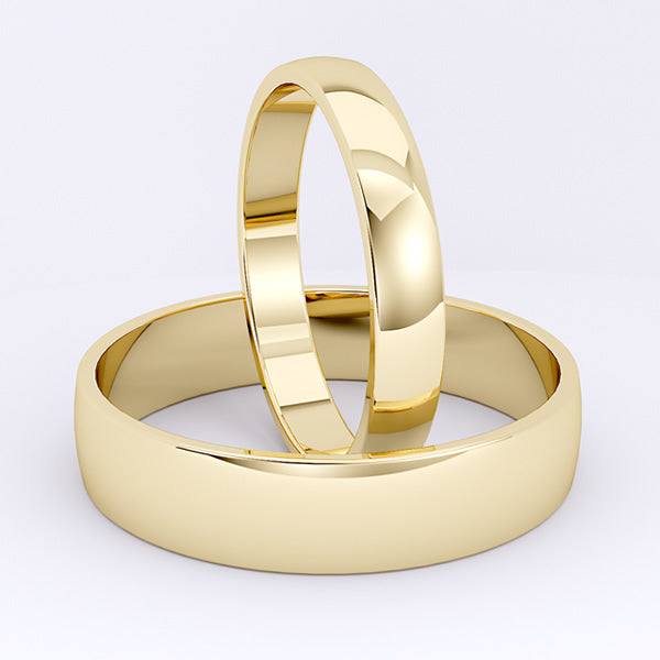 Gold Wedding Bands - 04GG93