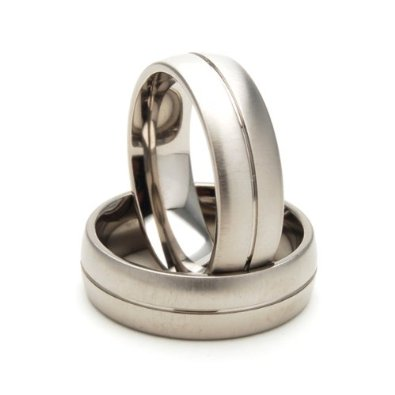 7mm Comfort Fit, Custom Titanium Ring - 05AB05