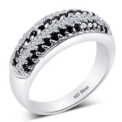 STERLING SILVER BRIDAL RING - 05AB53
