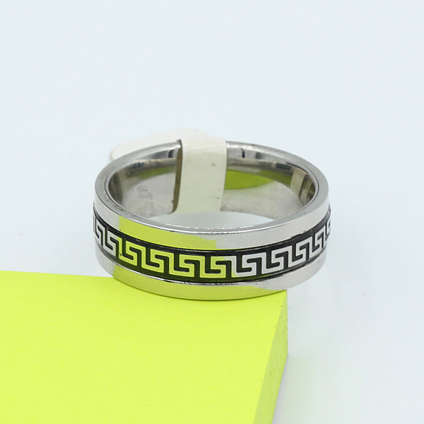 Stainless Steel Wedding Band - 05AB90