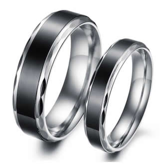 TITANIUM WEDDING BAND - 05AB94