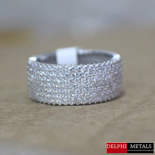 Sterling Silver Wedding Band - 05AS08
