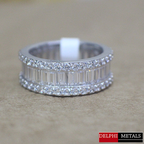 Sterling Silver Wedding Band - 05AS09