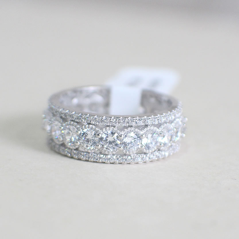 Sterling Silver Wedding Band - 05AS15