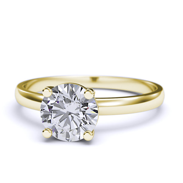 Solitaire Gold Engagement Ring - 05GG22