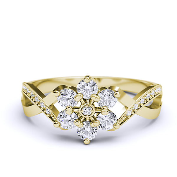 Gold Engagement Ring - 05GG23