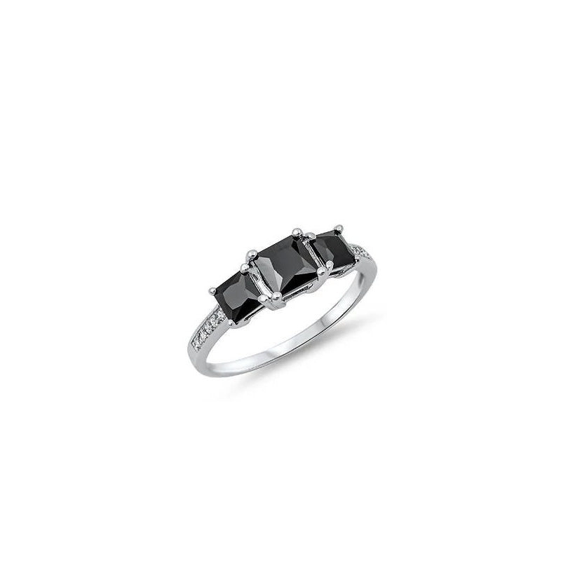 Sterling Silver Engagement Ring - 06AS63