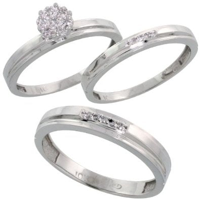 White Gold 3-Piece Trio