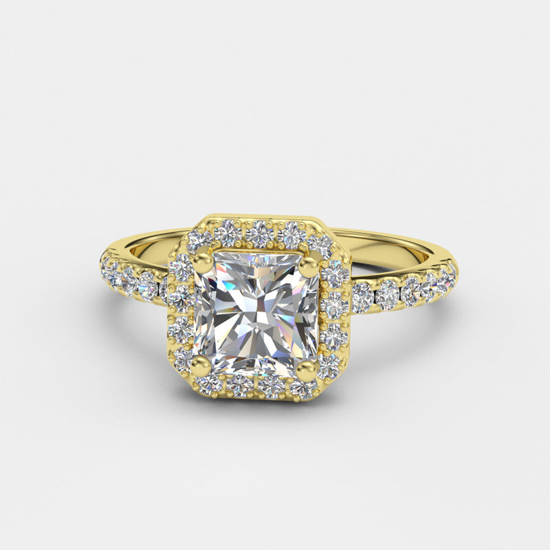 Radiant Cut Engagement Ring - 06GG59