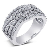 STERLING SILVER BAND - 07AB18