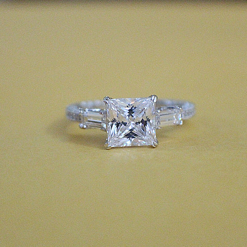 Sterling Silver Engagement Ring - 08AB73