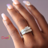 Sterling Silver Bridal Set - 08AS91