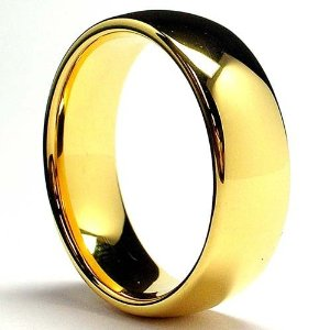Tungsten Ring Wedding Band