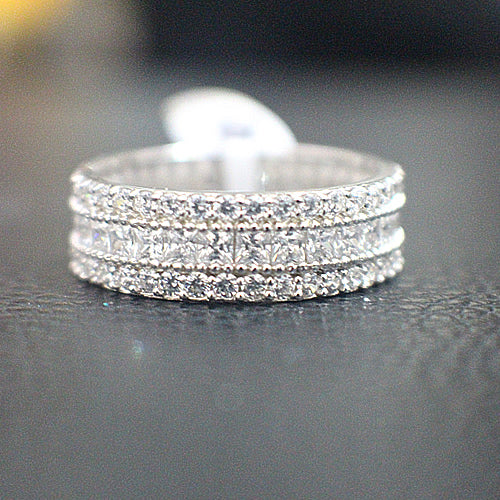 Sterling Silver Wedding Band - 10AB15