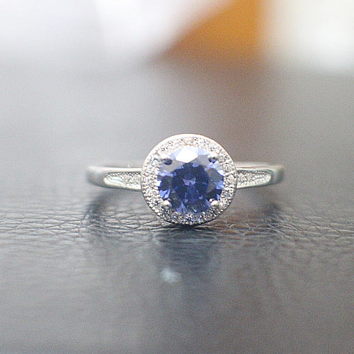 Sapphire Engagement Ring - 10AB69