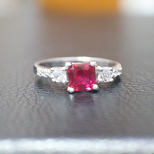 Ruby Engagement Ring - 10AB71