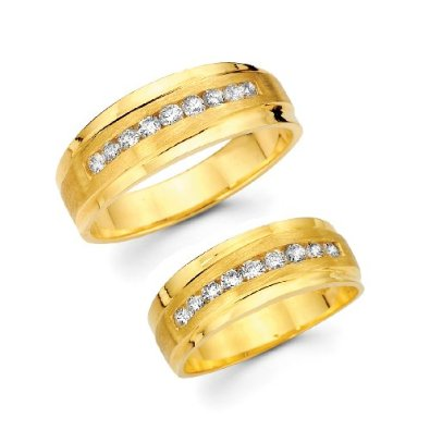 GOLD/DIAMOND BAND