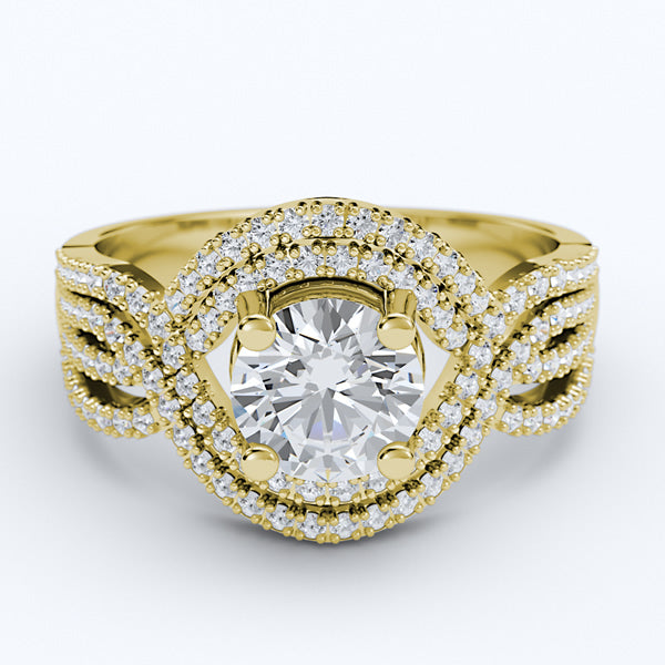 Gold Engagement Ring - 10GG63