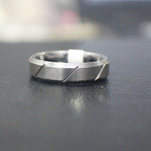 Tungsten Wedding Band - 11AB26
