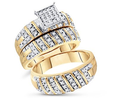 Trio Diamond Ring Set - 12GG83