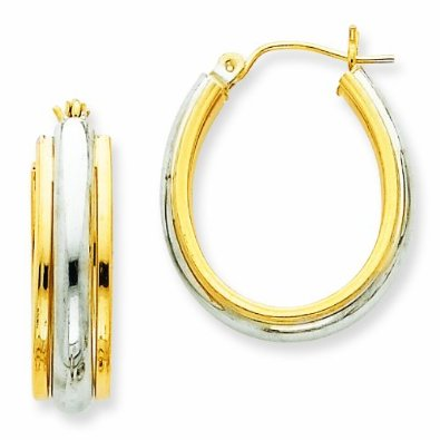 Fancy Hoop Earrings - 12RR14
