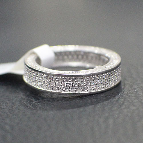 Sterling Silver Wedding Band - 13AB04