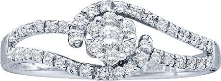 Real Diamond Wedding Engagement Ring