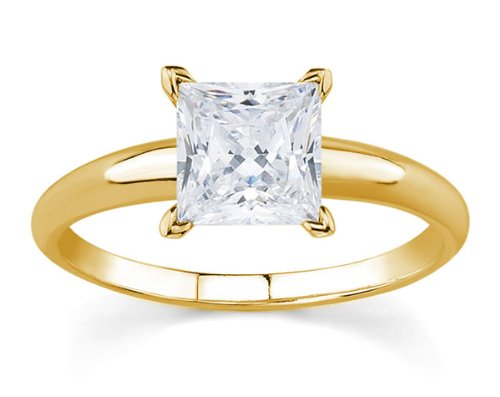 GOLD ENGAGEMENT RING