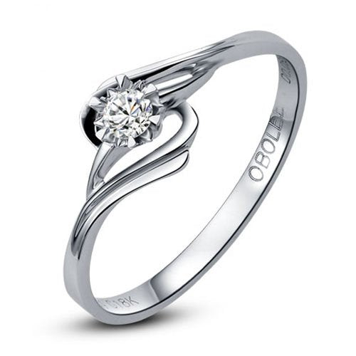 Diamond Solitaire Engagement Bridal Ring