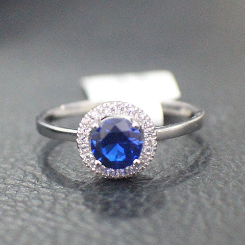 Sapphire Engagement Ring -15AB19