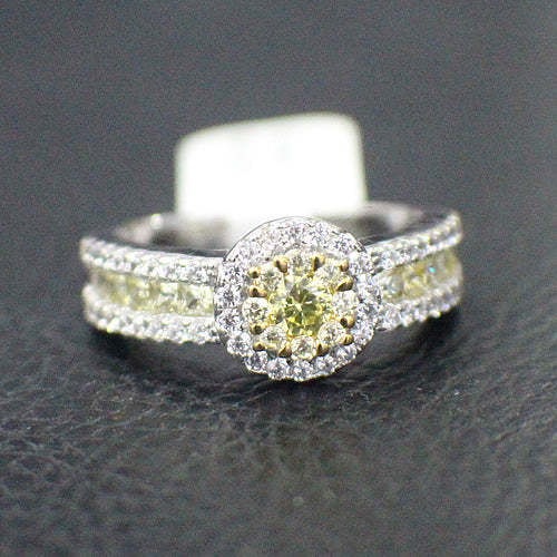 Sterling Silver Engagement Ring - 15AB37